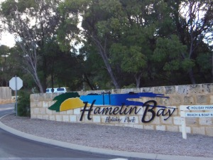 Hamelin Bay Sign