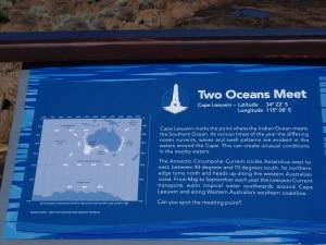 Two Oceans Meet Information