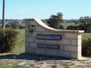 Dandaragan Entrance Sign