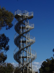 DNA Tower at Botanical Gardens