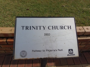 Trinity Church Plaque