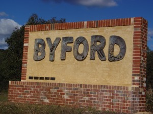 Byford Sign