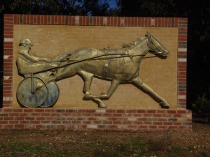Byford Entry Harness Racing Sculpture